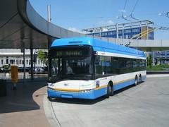 Ostrava trolleybus No. 3604 (johnzebedee) Tags: trolleybus transport publictransport vehicle ostrava czechrepublic skoda johnzebedee skoda27tr