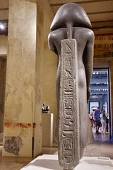 Statue of King Amenemhet III (Dave Hamster) Tags: neuesmuseum neues museum berlin germany museumisland 12thdynasty statueofkingamenemhetiii statue kingamenemhetiii kingamenemhet king amenemhet egypt