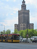 Warsaw, Poland Palace of Culture (Dan_DC) Tags: warsaw poland palaceofculture skyscraper tower clocktower publicarchitecture communism russia ussr tram streetcar city notoriety artistry