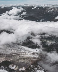 Glacier (karolklaczynski) Tags: fuji fujifilm xt1 alps chamonix mountain mountainside landscape aigulle midi moody france frenchalps glacier clouds above fromabove teal valley earth alpine alpen rocks
