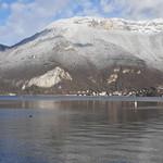 Talloires et la Tourette, lac d'Annecy, Duingt, Haute-Savoie, Rhône-Alpes, France. thumbnail