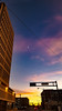 Officially Done (nattor13) Tags: downtown albuquerque newmexico mine 2017 buildings architecture street streetphotography driving urban darklight sky skyporn moon sunset sunsetporn