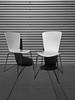Austerity Measures (bill barfield) Tags: architecture house modern furniture chairs patio bw blackandwhite iphone sanantonio lightanddark lightandshadow
