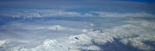 Mt. Katmai, Western Alaska from 12,500 meters