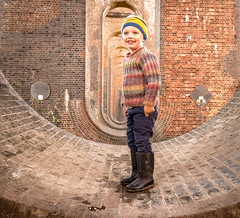 Ouse Valley Viaduct (Mister_Roberts) Tags: d7100 noah wellington new zealand portrait family baby newborn maternity ouse valley balcombe viaduct nikon bricks child children playing natural toddler kid boy sussex england uk outdoors bridge train 123kids speedlight sb600 dayout