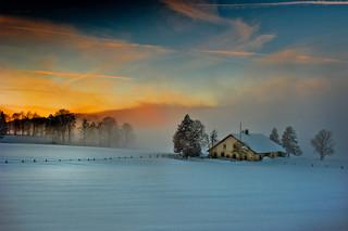 Winter twilight time.  12.12.12, 17:33:52 .No. 1689