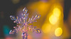 Let it snow (- A N D R E W -) Tags: snow nieve winter invierno dof depth bokeh lights luz color colorful vibrant sony ilce7rm2 alpha mirrorless a7rii emount macro closeup ricoh rikenon 50mm f2 snowflake ornament macromondays litbycandlelight hmm