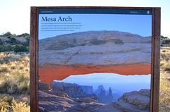 Mesa Arch (Joe Shlabotnik) Tags: nationalpark mesaarch utah sign 2017 arch canyonlands november2017 canyonlandsnationalpark afsdxvrzoomnikkor18105mmf3556ged