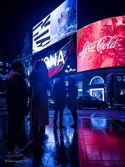 Piccadilly Circus Neon 50/52 (amipal) Tags: 175mm adverts billboard capital city england gb greatbritain london lowlight manuallens night people piccadillycircus street uk unitedkingdom urban voigtlander photoaweek photo52