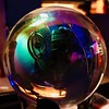 361/365/6 (f l a m i n g o) Tags: globe sphere orb iridescent reflection project365 365days group december 19th 2017 tuesday