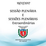 Sessões Plenárias e Extraordinárias 19/12/2017