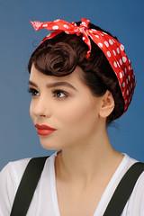 Model Karolina (Michael Struts) Tags: karolina struts 40s 1940s uniform cute