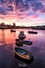 Sunset Boats (robinta) Tags: quayside quay marina harbour sunderland sunset dusk twilight seascape urban city cityscape colour colors boats water clouds sky architecture ngc pentaxart england