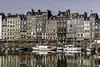 HONFLEUR HARBOUR ....Normandie France (jibété61) Tags: ngc boat water honfleur normandie port harbour house city sky grey red colors couleurs