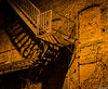 Night Photography Strip District (charlie_guttendorf) Tags: guttendorf nikon nikon18200mm nikond7000 pittsburgh pittsburghpa uncoveringpa alley dark fireescape night nightphotography outdoors outside westernpa winter