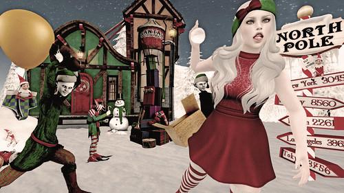 Naughty Elf Snow Day