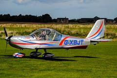 G-XBJT, Aerotechnik Eurostar, Beverley / Linley Hill August 2017 (Flying Fotos GB) Tags: beverley linleyhill gxbjt eurostar aerotechnik