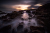 Misty Path (Augmented Reality Images (Getty Contributor)) Tags: longexposure waves coastline sunrise leefilters scotland landscape water colours clouds morayfirth canon findochty seascape rocks unitedkingdom gb