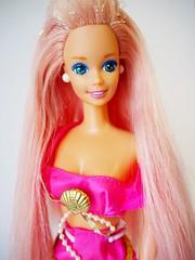 1993 Fountain Mermaid Barbie Doll #10393 (The Barbie Room) Tags: 1993 fountain mermaid barbie doll 10393 1990s 90s pink