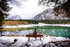 Fairytale-like scenery (_gate_) Tags: laghi di fusine italy tarvisio italia blond girl winter composition tarvis house mangart mount mt julian alps alpen italien weisenfelser seen lake see ice cold sunset sun down nature mountains frozen eis nikon d750 upgrade 20mm afs 18g ed landscape landschaft 2016 2017 holiday christmas weihnachten europe eu bella schön wasser schnee boot berg baum himmel wald inferior holz park heiter
