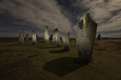 New Year's Eve Moonlight and Torchlight at the Callanish Standing Stones, Isle of Lewis, Outer Hebrides, Scotland (MelvinNicholsonPhotography) Tags: callanish callanishstandingstones lewis isleoflewis outerhebrides scotland stones standingstones newyearseve lightpainting moonlight nighttime nightphotography melvinnicholsonphotography canon5dmk4 nisifilters