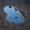 endlich blauer Himmel (geka_photo) Tags: gekaphoto kiel schleswigholstein deutschland gaarden bürgersteig himmel blau pfütze spiegelung gaardenerimpressionen