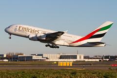 A6-EOK, Airbus A380-861, Emirates (freekblokzijl) Tags: emirates airbusa380 a380861 departure takeoff zwanenburgbaan rotation amsterdamairport schiphol eham planespotting vliegtuigspotten luchthaven startbaan canon eos7d 70200l28isusm