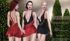 """Casadel-""""Mackerel"""" Asymmetric Mini Dress (CASADEL DESIGN) Tags: casadel design asymmetric mini dress cosmopolitan event"""