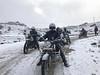 Riding on Ice (rajnishjaiswal) Tags: bike bikeride riding offroading ridingonice whitebackground mountains snowcoveredmountain snow beautifulnature nature tawang himalayas