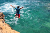 Take the leap (T is for traveler) Tags: travel traveler traveling tisfortraveler photography digitalnomad backpacker exploration trip greece sea water dive jump active leap samsung canon 1855mm 700d