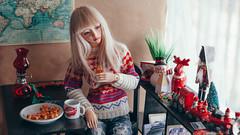 IMG_8529 (mimiau_m) Tags: bjd bjdstory asian doll christmas noel zaoll luv recast dollroom