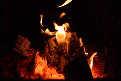 Heat (phagileo) Tags: fire glowing burn samyang nikon winter oven heat warmth flames flame burning wood