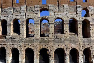 FLAVIAN AMPHITHEATRE (THE COLOSSEUM), ROME, ITALY  -  (Selected by GETTY IMAGES)