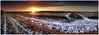 Winter Sunset Panorama. (vegetus aer) Tags: woodwaltonfen greatfen greatfenproject wildlifetrust bcnwildlifetrust nnr cambridgeshire winter sunset panorama sony rx10m3