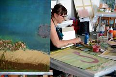 Styrian Summer Art 2017 Fotos by Chri Strassegger (43) (Styrian Summer Art) Tags: juli17iv styriansummerart siebdruck acrylmalerei kunstkurse kunstworkshop kunst kunstseminar naturparkpöllauertal