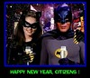 BATMAN 1966 CELEBRATING NEW YEAR'S EVE WITH CATWOMAN (DarkJediKnight) Tags: batman television 1966 catwoman newyear newyearseve adamwest julienewmar humor parody spoof fake