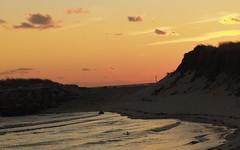 Frigid Waves (ZoKë) Tags: winter sunset truro seawall lagoon capecod cornhill