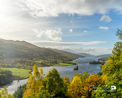 Queen's view (Jean D. Photography) Tags: queen view landscape sony pitlochry scotland loch lake sky blue fall autumn sunshine visitscotland sun bluesky a7ii alpha7ii zeiss 55mm fe55mm sonypictures nature cloud