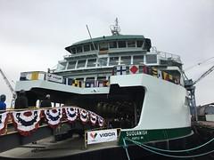 Ferry festive (WSDOT) Tags: washingtonstatedepartmentoftransportation washingtonstateferries suquamish christening governor ferry ferries nz