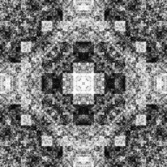 2058600445 (michaelpeditto) Tags: art symmetry carpet tile design geometry computer generated black white pattern