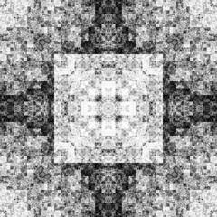 1357994325 (michaelpeditto) Tags: art symmetry carpet tile design geometry computer generated black white pattern