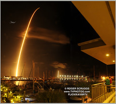 114704 SpaceX Launch 180107w (av8rtv tvphotog) Tags: spacex tvphotog av8rtv zuma port canaveral cocoabeach rocket streak scruggs