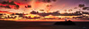 Godrevy Sunset Panorama (Dave Massey Photography) Tags: godrevylighthouse cornwall stives sunset
