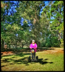 10/24/17 - Segway Tour in Hilton Head Island, SC (Chillycub) Tags: october 2017 vacation trip hdr hiltonheadisland southcarolina plantation tour segway tours trees liveoaks friend amy