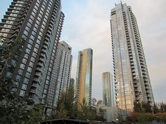 IMG_5088 Yaletown Condo Towers (vancouverbyte) Tags: vancouver vancouverbc vancouvercity yaletown
