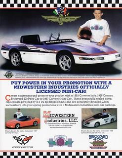 1995 Chevrolet Corvette Indy Pace Car Replica
