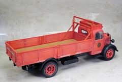 b_olbd048b (tanayan) Tags: car model plamodel 124 scale miniature bedford nikon v3 modelcar emhar 124scale olbd dropside truck plastic kit