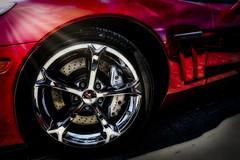 Vette #1 (madmtbmax) Tags: chevrolet corvette american muscle car auto hobby vehicle ami red wheel felgen chrome tyre intense orton luminar glow glowing design us usa old sports retro vintage luminar2018