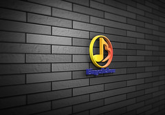 3D-Wall-Logo-MockUp.bongo (shopbd) Tags: logodesign classic effect indieground insignia label mockup presentation retro style text type typography