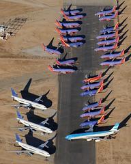 Southwest and Aerolineas Argentinas aircraft, KVCV, December 2017 (a2md88) Tags: kvcv vcv victorville southerncalifornialogisticsairport